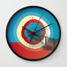 Rain Again Wall Clock
