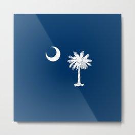 flag south carolina,america,us,Savannah,Palmetto,Carolinian,cotton,Confederate,Goose Creek,Rock Hill Metal Print
