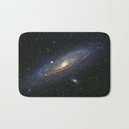 The Andromeda Galaxy Bath Mat