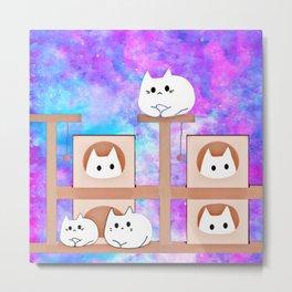 cats tower 514 Metal Print