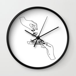 How to roll up your sadness? Wall Clock