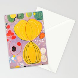 "Hilma af Klint ""The Ten Largest, No. 07, Adulthood, Group IV"" Stationery Cards"