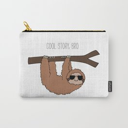Sloth Cool Story Bro Carry-All Pouch