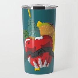 Death in the city Travel Mug