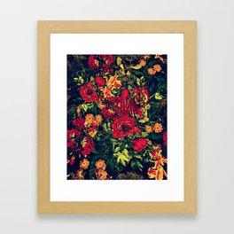 Vivid Jungle Framed Art Print