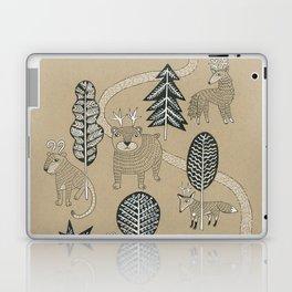 Woodland Creatures Laptop & iPad Skin