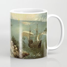 Landscape with the Fall of Icarus - Pieter Bruegel Coffee Mug