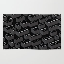 Building Blocks Pattern – Noir Rug