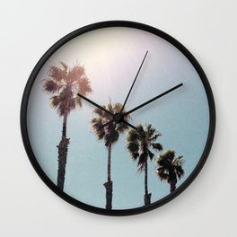 Four Palms Wall Clock