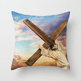 He has Risen Throw Pillow