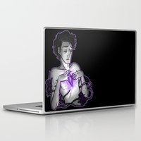 asexual Laptop & iPad Skins featuring Ace of Diamonds by Kieran Thompson