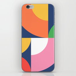 Abstract Geometric 17 iPhone Skin
