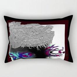 BlackFace Rectangular Pillow