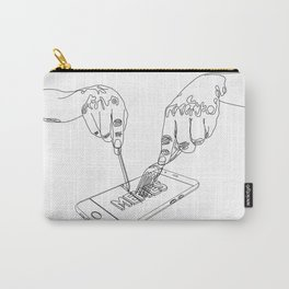 Devouring internet memes Carry-All Pouch