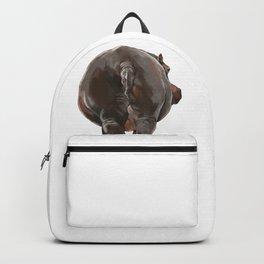 Hippo Butt Backpack