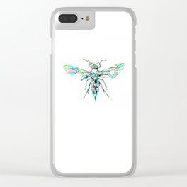 Hornet Clear iPhone Case
