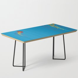 Stitches: Jellyfish Coffee Table