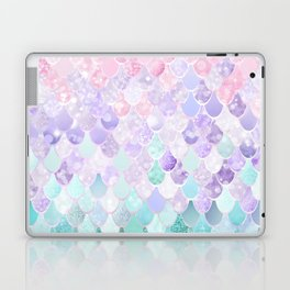 Mermaid Pastel Iridescent Laptop & iPad Skin