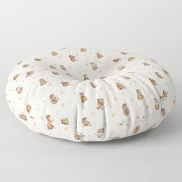 Cute French Bakery Floor Pillow
