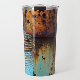 Blue Pipe Travel Mug