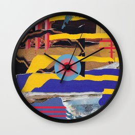 pulled muscle Wall Clock