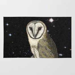 Owl in the Universe Rug