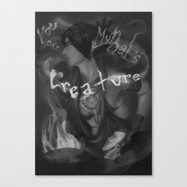 Morrigan, Creature of Mythal Canvas Print