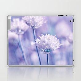 Allium blue macro 038 Laptop & iPad Skin