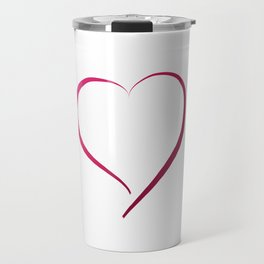 Heart in Style by LH Travel Mug