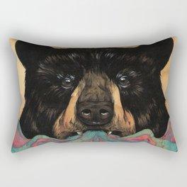 """""""Open"""" series, IX (Bear) Rectangular Pillow"""
