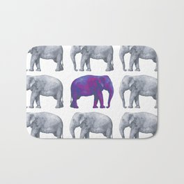 Elephants II Bath Mat