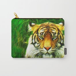 Tiger is Not Amused Carry-All Pouch