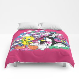 Puddy Tat_Tweety&Sylvester Comforters