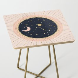 Love in Space Side Table