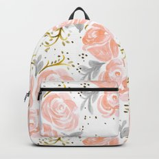 Sparkling Rosé flora Backpacks