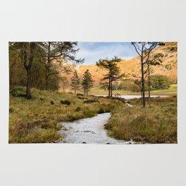 Lake District landscape Rug