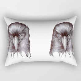 A Biro Eagle Rectangular Pillow