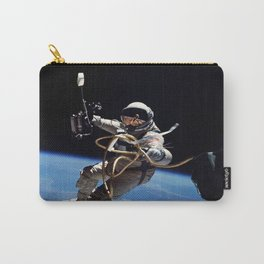 Astronaut : First American Spacewalk 1965 Carry-All Pouch