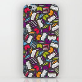 So Many Colorful Book... iPhone Skin
