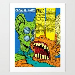 P.A.C.C. Festival Poster Art Print