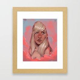 portrait #1 Framed Art Print