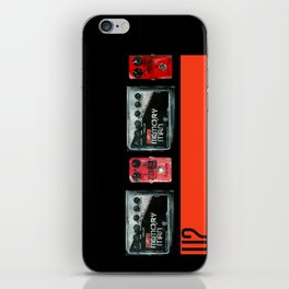 The Edge War Tour Pedalboard  iPhone Skin