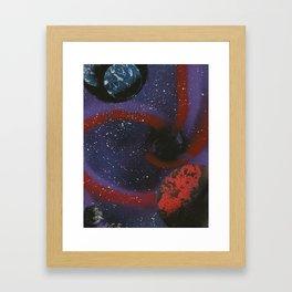 Space Vortex Framed Art Print