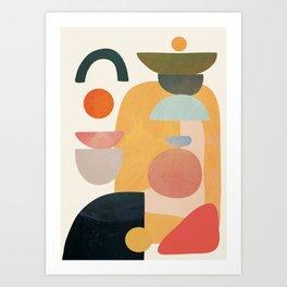 Modern Abstract Art 70 Art Print