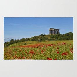 Penshaw Monument Poppys Rug