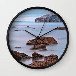 The Bass Rock Wall Clock
