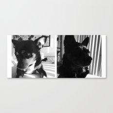 Charlie + Lucie Canvas Print