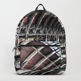 Paddington Station Art Backpack