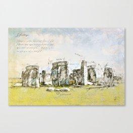 Stonehenge, England Canvas Print