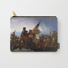 Washington Crossing the Delaware by Emanuel Leutze (1851) Carry-All Pouch